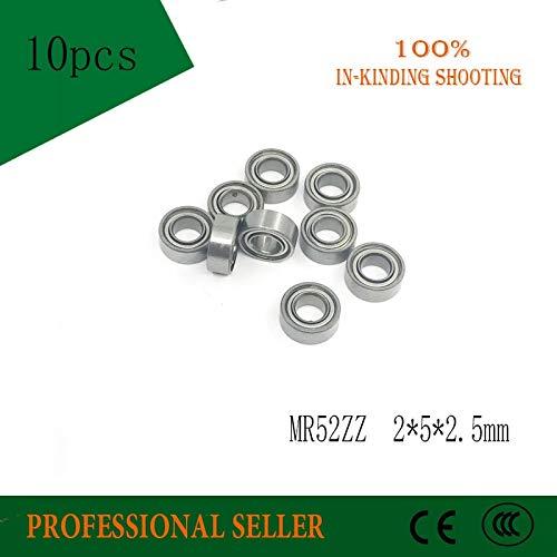 5 mm Low-Speed Bearings MR52 Z MR52Z L-520ZZW52 252.5 mm Ochoos 10pcs MR52ZZ 2x5x2