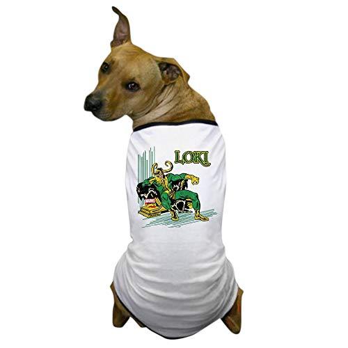 CafePress Marvel Comics Loki Retro Dog T Shirt Dog T-Shirt, Pet Clothing, Funny Dog Costume -