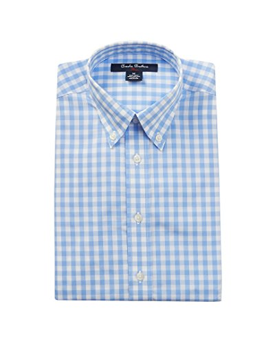 Brooks Brothers Boys Boy's Dress Shirt, L, Blue