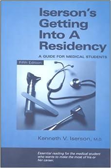 Como Descargar Libros En Iserson's Getting Into A Residency: A Guide For Medical Students Formato PDF Kindle