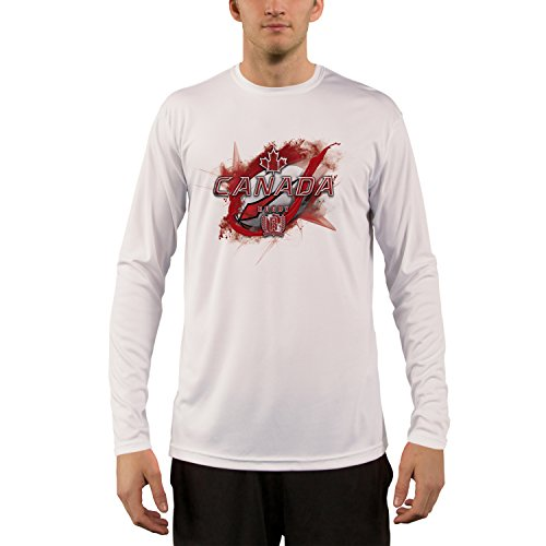 Canada Rugby Men's UPF Performance T-shirt X-Large White