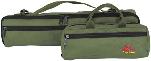 Khaki Combo - Sedona Flute & Piccolo Case Covers/Combo Set--Khaki Green