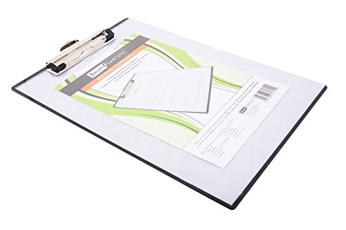 Mobile OPS(R) Unbreakable Quick Reference Clipboard, With Transparent Protective Cover, 1 Each, Clear