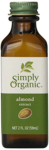 - Simply Organic Almond Extract, Certified Organic, 2-Ounce Container