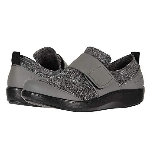 TraQ by Alegria Womens Qwik Walking Shoe, Charcoal, Size 37 EU (7-7.5 M US Women)