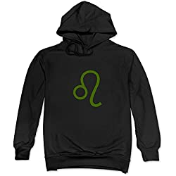 Leo Zodiac Signs Lion Homestuck Hoodies For Man's Black
