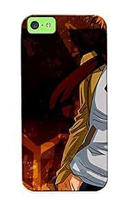 Ellent Design Bleach Kurosaki Ichigo Bandaids Phone Case For Iphone 5c Premium Case For Thanksgiving Day's Gift