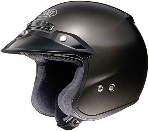 Shoei RJ Platinum-R 3/4 Helmet (X-LARGE) (ANTHRACITE)