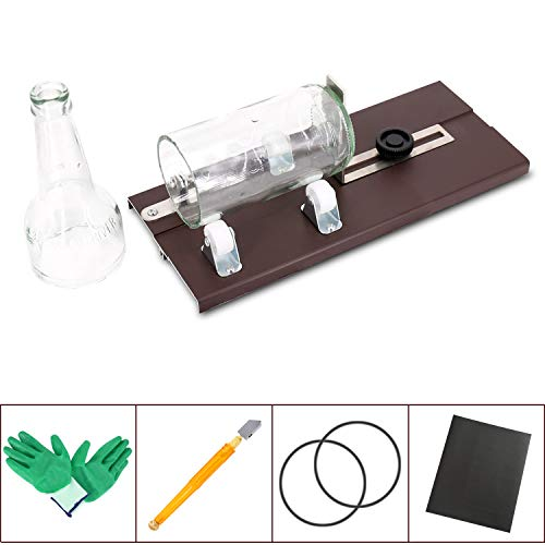 Glass Bottle Cutter, DIY Cutting Machine kit for Cutting Wine Bottles and Beer Bottles