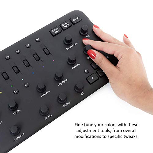 Loupedeck+ Plus Photo and Video Editing Console and Keyboard for Adobe Lightroom, Adobe Photoshop CC, Premiere Pro CC, Skylum Aurora HDR and More by Loupedeck (Image #5)