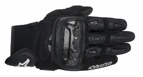 - Alpinestars GP-Air Leather Gloves - X-Large/Black/White/Red by Alpinestars