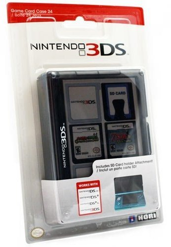 Nintendo 3DS Game Card Case 24 – Black
