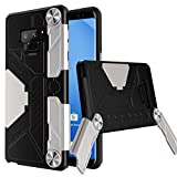 FYY Case for Samsung Galaxy Note 9, Tough Armor Case with [Ergonomic Design Handgrip Stand] [Kickstand Feature] Air Cushion Technology and Heavy Duty Protection for Samsung Galaxy Note 9 Black