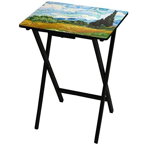 Oriental Furniture Van Gogh Wheat Field TV Tray by ORIENTAL FURNITURE