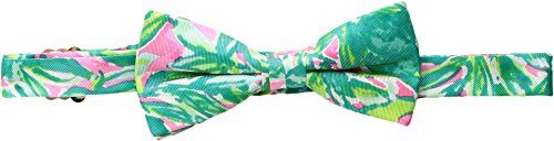 Lilly Pulitzer Kids  Men's Guac & Roll Bow Tie Pink Sunset/Guac & Roll One (Lilly Pulitzer Tie)