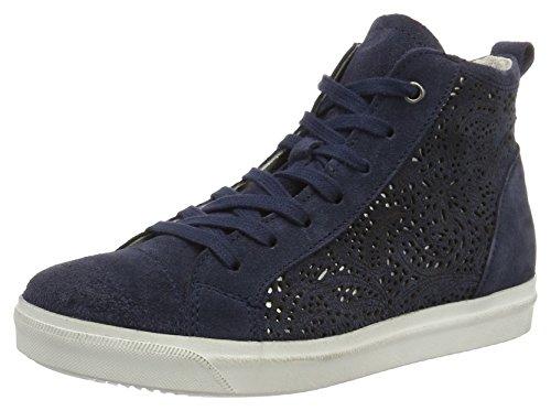 Hautes Antic Femme denim Bleu 25206 812 Marco Premio Tozzi Sneakers qpxSIw