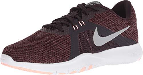 - Nike Women's Flex TR 8 Training Shoe Burgundy Ash/Metallic Silver Size 10 M US