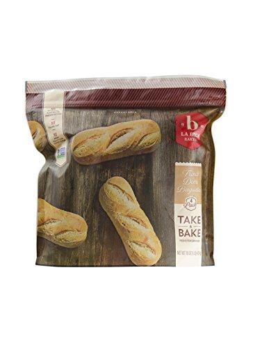 La Brea Bakery Take & Bake French Demi Baguettes, Pkg of 4 (Frozen) (Fresh Baked Bread)