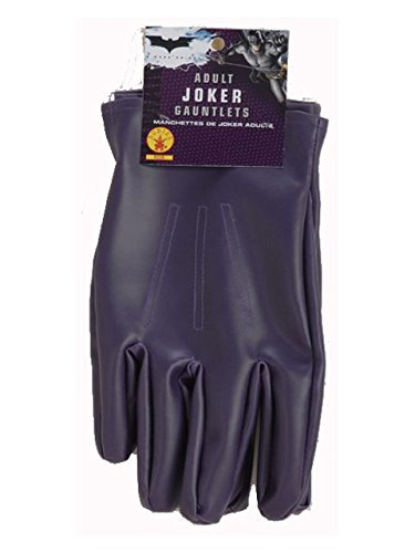 Rubie's Dc Heroes and Villains Collection Joker Adult Gloves, Purple, One Size