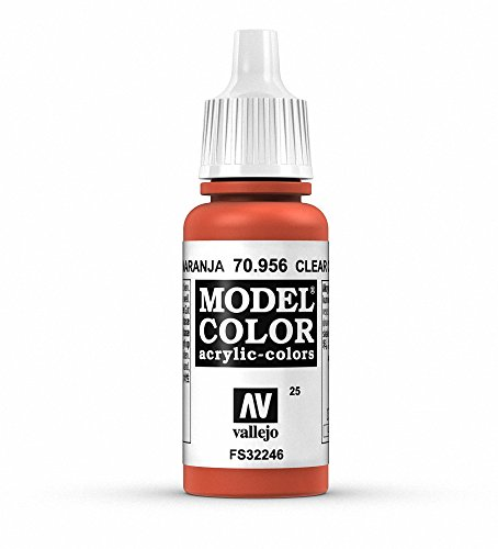 Vallejo Acrylic Paint, Clear Orange