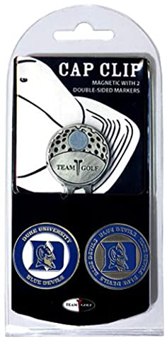 NCAA Duke Blue Devils Cap Clip With 2 Golf Ball Markers - Magnetic Ball Marker