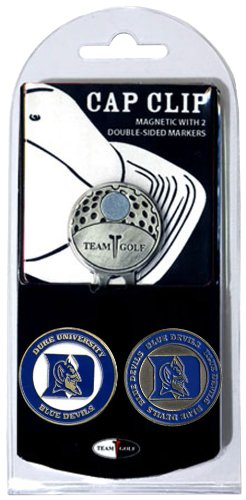 Duke Blue Devils Golf - NCAA Duke Blue Devils Cap Clip With 2 Golf Ball Markers