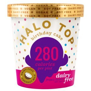 Halo Top Non Dairy Pint, Birthday Cake, 16 oz. (8 count)