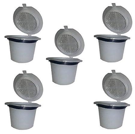 nispira 5 unidades reutilizable té cápsulas MONODOSIS de ...