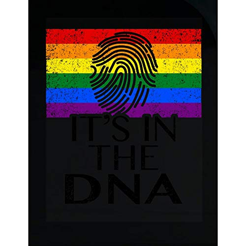 DNA Transparent Sticker - It's in The - Genes Themed Gifts ()
