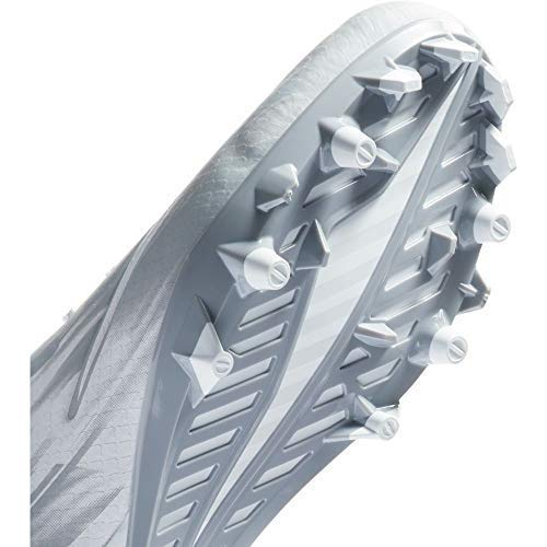 Nike Vapor Speed 2 Lax Cleats (10 D US, White/Grey)