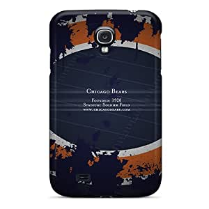 New Style Case Cover WhU3704rRNE Chicago Bears Compatible With Galaxy S4 Protection Case