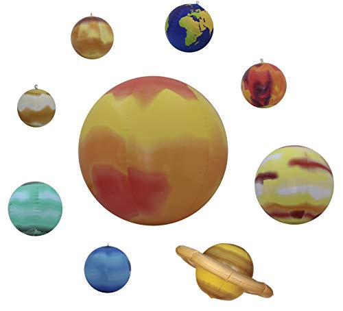 Inflatable Solar System 10 Pieces -