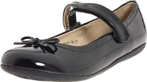 Kid Express Josie Mary Jane (Toddler/Little Kid/Big Kid),Black Patent,35 EU (4 M US Big Kid) - Kid Express Leather Mary Janes