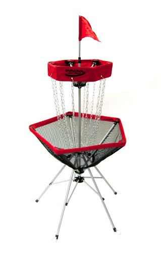Innova DISCatcher Traveler Target - Portable, Lightweight Disc Golf Basket, Colors May Vary, Red by INNOVA