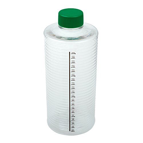 (Celltreat 229386 1900cm² ESRB Roller Bottle, Tissue Culture Treated, Printed Graduations, Non-Vented Cap, Sterile (case of 12))