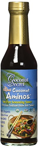Coconut Secret Coconut Aminos Sauce Organic 8 oz (2 Pack)