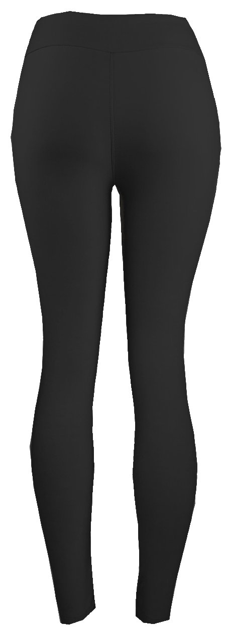 Lush Moda Extra Soft Leggings-Variety of Colors-Plus Size Yoga Waist-Black Yoga Waist,One Size fits Most (XL - 3XL) by LMB (Image #3)