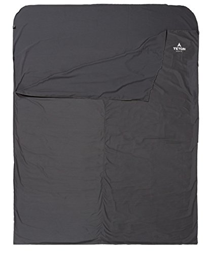 TETON Sports Mammoth Cotton Sleeping Bag Liner for Travel and Camping Sheet