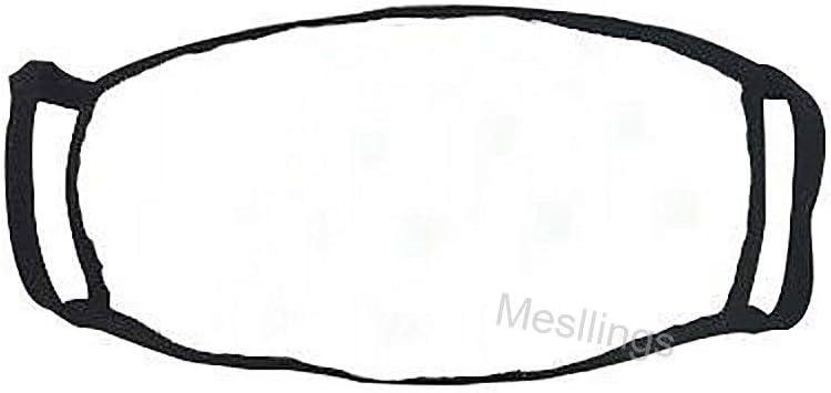 Mesllings Housse de protection pour ext/érieur Motif flamant rose vintage avec fond noir