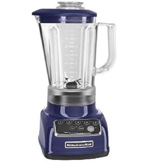 KitchenAid RKSB1570BU 5 Speed Blender With 56 Ounce BPA Free Pitcher    Cobalt