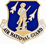U.S. Air Force Air National Guard Hat Pin 1'' by HighQ Store