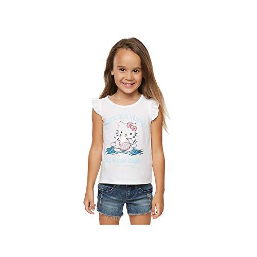 O'Neill Kids Baby Girl's Hello Kitty¿ Mermaid Wishes Tank Top (Toddler/Little Kids) White 5