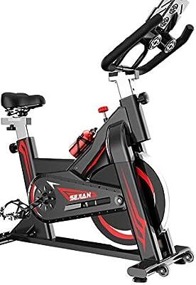 Warmth Supplies Bicicleta de Ejercicio, Spinning Bicicleta Ultra-Tranquila casa Ejercicio Bicicleta Interior Deportes Pedal Bicicleta pérdida de Peso Equipo de Fitness: Amazon.es: Deportes y aire libre