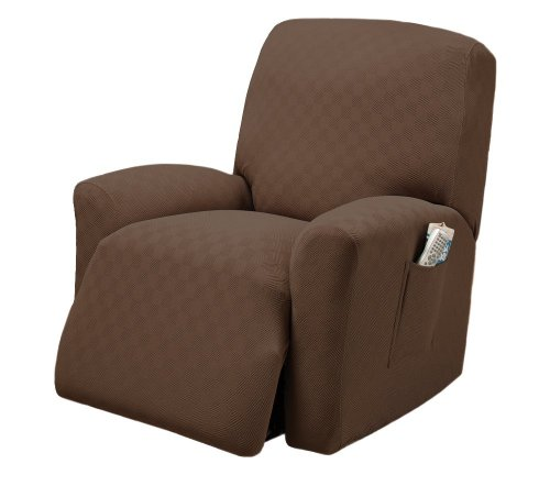 Stretch Sensations Newport Recliner Stretch Slipcover Cocoa  sc 1 st  Amazon.com & Lazy Boy Recliner Covers: Amazon.com islam-shia.org