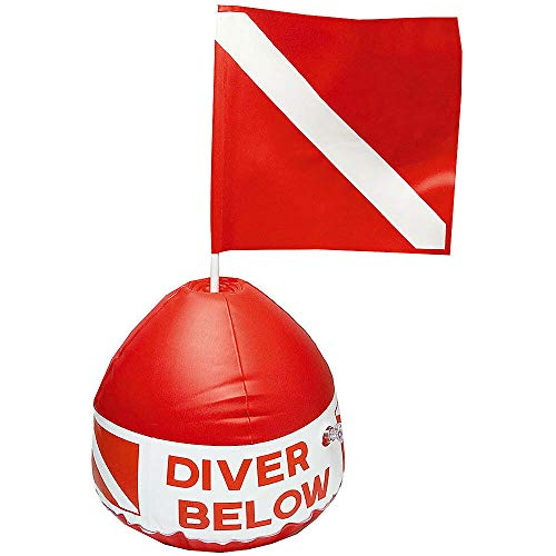 Scuba Max DF-03 Inflatable Float with Dive Flag