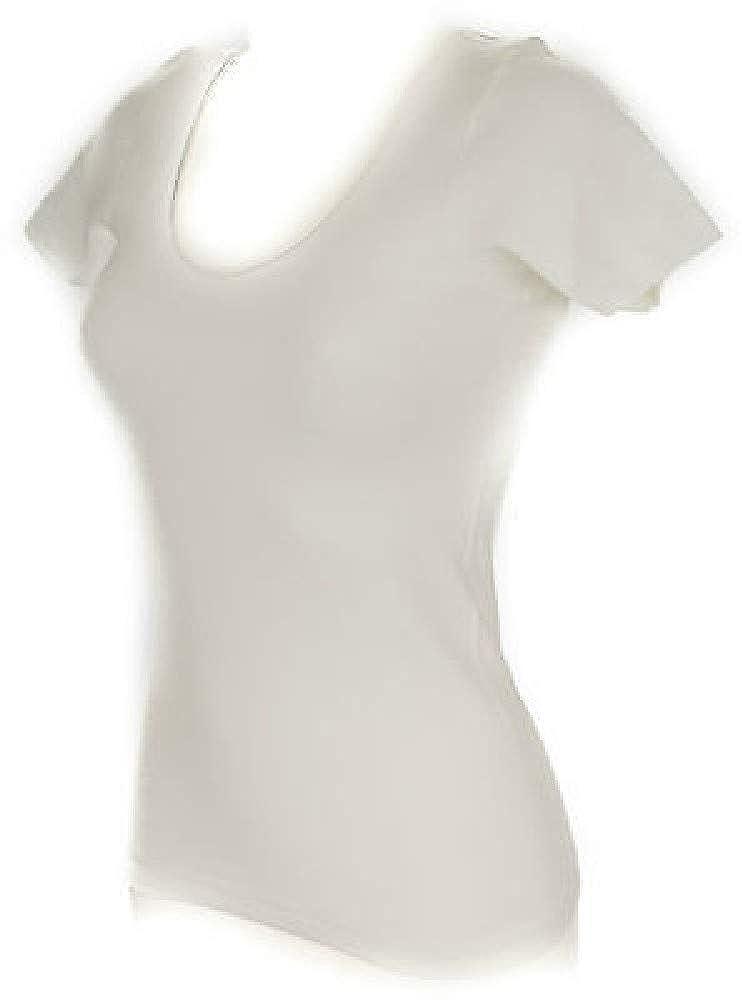 Maglietta donna manica corta girocollo