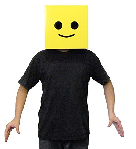 Male Yellow Brickman Costume Box -