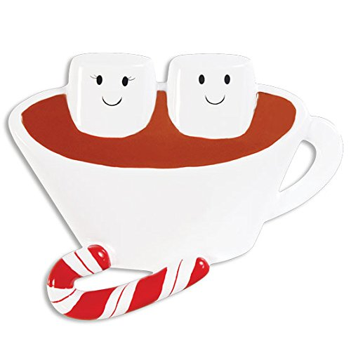 (Grantwood Technology Personalized Christmas Ornaments Family-HOT Chocolate Family-Couple/HOT Chocolate Ornaments/Personalized Family Ornaments HOT Chocolate/Personalized by Santa)