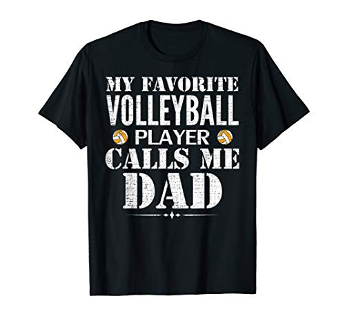 (My Favorite Volleyball Player Call Me Dad Funny Father's Day)
