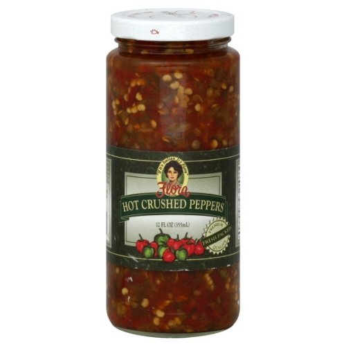 Flora Fine Foods, 12 Oz Peppers (Pack of 4) (Hot - Crushed)